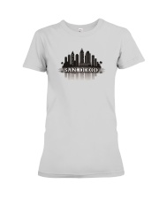 The San Diego Skyline Premium Fit Ladies Tee tile