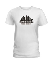 The San Diego Skyline Ladies T-Shirt thumbnail