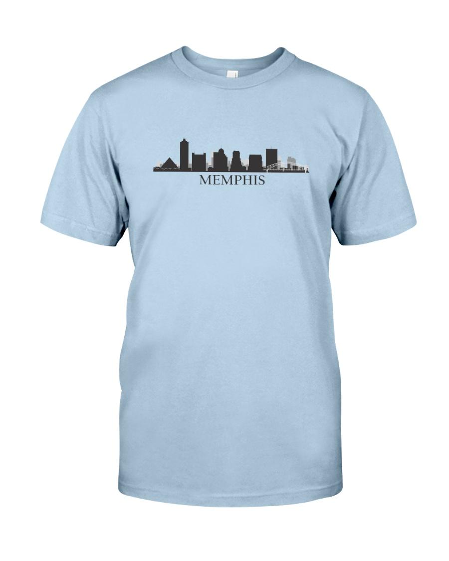 The Memphis Skyline Classic T-Shirt