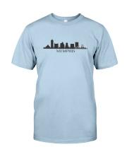 The Memphis Skyline Classic T-Shirt front