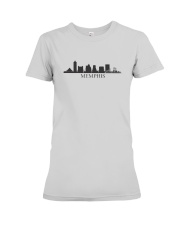 The Memphis Skyline Premium Fit Ladies Tee thumbnail