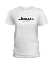 The Memphis Skyline Ladies T-Shirt thumbnail