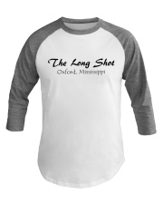 The Long Shot - Oxford Mississippi Baseball Tee front