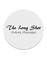 The Long Shot - Oxford Mississippi Circle Coaster thumbnail