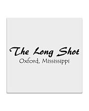 The Long Shot - Oxford Mississippi Square Coaster thumbnail