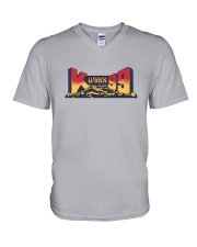 WRKK K99 - Birmingham Alabama V-Neck T-Shirt tile