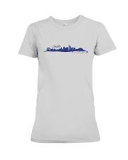 The Seattle Skyline Premium Fit Ladies Tee thumbnail