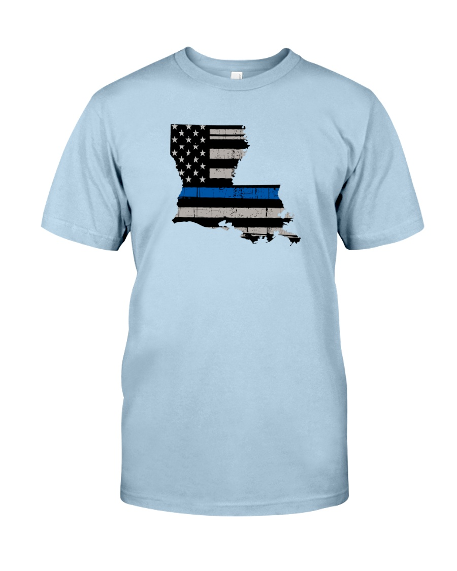 Louisiana - Thin Blue Line Classic T-Shirt