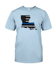 Louisiana - Thin Blue Line Classic T-Shirt front