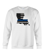 Louisiana - Thin Blue Line Crewneck Sweatshirt thumbnail