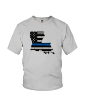 Louisiana - Thin Blue Line Youth T-Shirt thumbnail