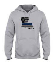 Louisiana - Thin Blue Line Hooded Sweatshirt thumbnail