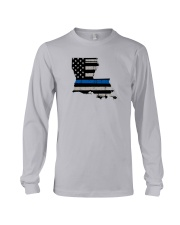 Louisiana - Thin Blue Line Long Sleeve Tee thumbnail