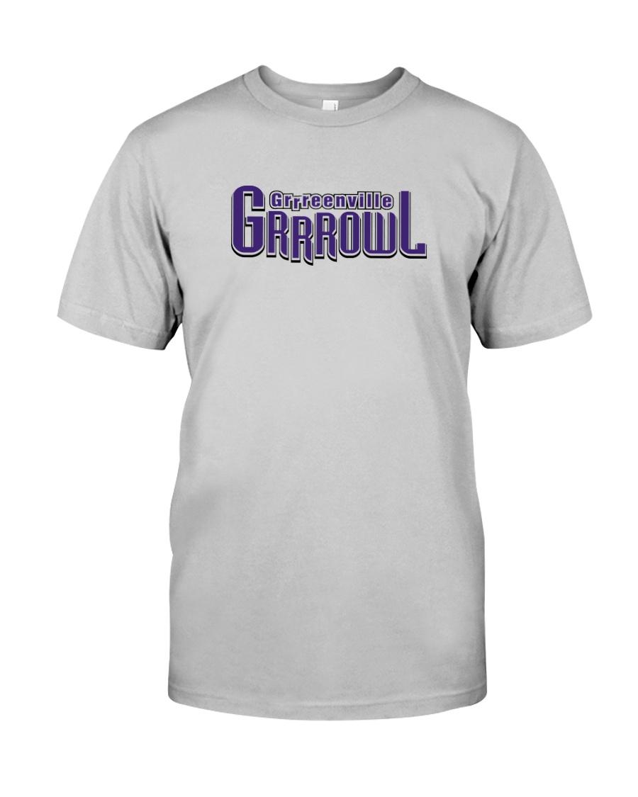 Grrreenville Grrrowl Classic T-Shirt