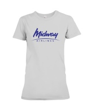 Midway Airlines Premium Fit Ladies Tee thumbnail