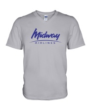 Midway Airlines V-Neck T-Shirt thumbnail