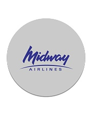 Midway Airlines Circle Coaster thumbnail