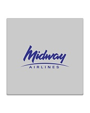 Midway Airlines Square Coaster tile