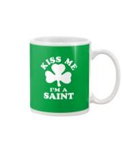 Kiss Me I'm a Saint Mug thumbnail