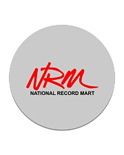 National Record Mart Circle Coaster tile