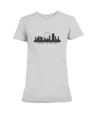 The St Louis Skyline Premium Fit Ladies Tee thumbnail