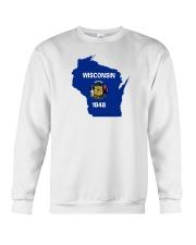 State Flag of Wisconsin Crewneck Sweatshirt thumbnail