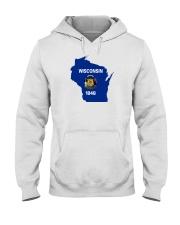 State Flag of Wisconsin Hooded Sweatshirt thumbnail