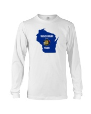 State Flag of Wisconsin Long Sleeve Tee thumbnail