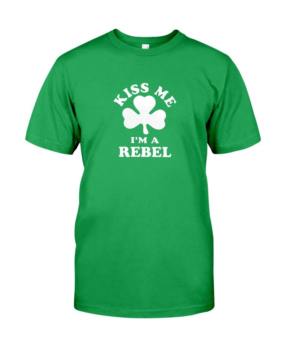 Kiss Me I'm a Rebel Classic T-Shirt