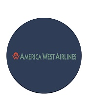 America West Airlines Circle Coaster thumbnail