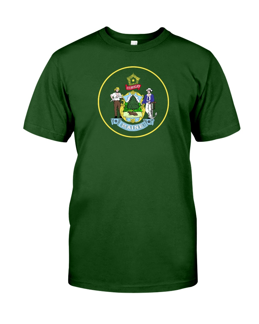 Great Seal of the State of Maine Classic T-Shirt
