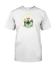 Great Seal of the State of Maine Premium Fit Mens Tee thumbnail