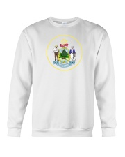 Great Seal of the State of Maine Crewneck Sweatshirt thumbnail