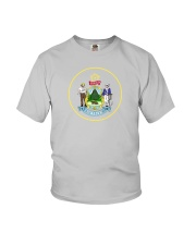 Great Seal of the State of Maine Youth T-Shirt thumbnail