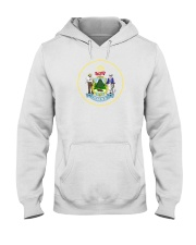 Great Seal of the State of Maine Hooded Sweatshirt thumbnail