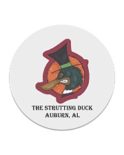 The Strutting Duck - Auburn Alabama Circle Coaster thumbnail