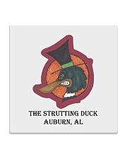 The Strutting Duck - Auburn Alabama Square Coaster thumbnail