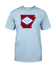 State Flag of Arkansas Classic T-Shirt front