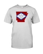 State Flag of Arkansas Premium Fit Mens Tee thumbnail