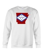 State Flag of Arkansas Crewneck Sweatshirt thumbnail