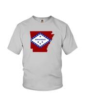 State Flag of Arkansas Youth T-Shirt thumbnail