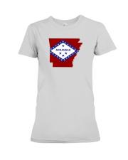 State Flag of Arkansas Premium Fit Ladies Tee thumbnail