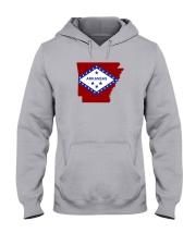 State Flag of Arkansas Hooded Sweatshirt thumbnail