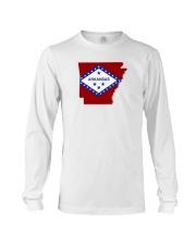 State Flag of Arkansas Long Sleeve Tee thumbnail