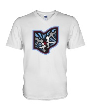 Ohio Machine V-Neck T-Shirt thumbnail