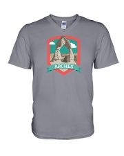 Arches National Park V-Neck T-Shirt thumbnail
