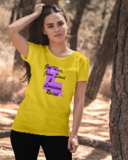 God Made - Jesus Saved - Louisiana Raised Ladies T-Shirt apparel-ladies-t-shirt-lifestyle-06