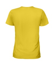 God Made - Jesus Saved - Louisiana Raised Ladies T-Shirt back