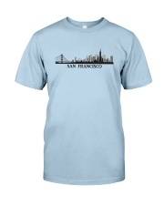 The San Francisco Skyline Classic T-Shirt front