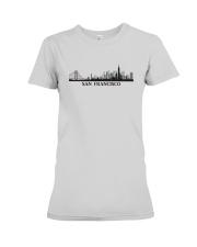 The San Francisco Skyline Premium Fit Ladies Tee thumbnail